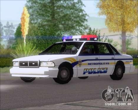 Police LS Metropolitan Police para GTA San Andreas