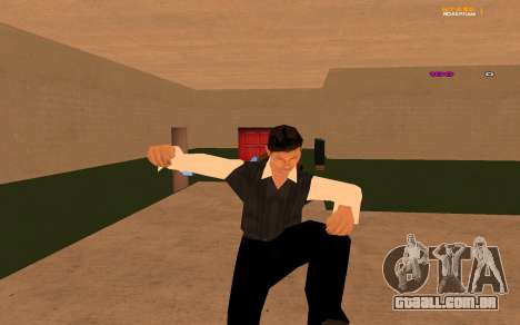 Nova animação por Ozlonshok para GTA San Andreas por diante tela