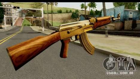 New AK47 para GTA San Andreas segunda tela
