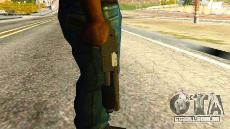 Sawnoff Shotgun from GTA 5 para GTA San Andreas terceira tela