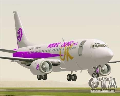 Boeing 737-500 Okay Airways para GTA San Andreas
