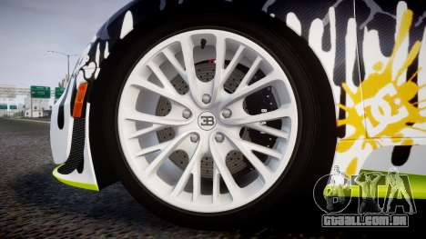 Bugatti Veyron Super Sport 2011 [EPM] Ken Block para GTA 4 vista de volta