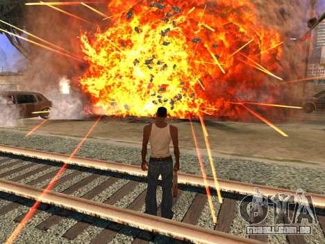 New Realistic Effects 4.0 Full Final Version para GTA San Andreas