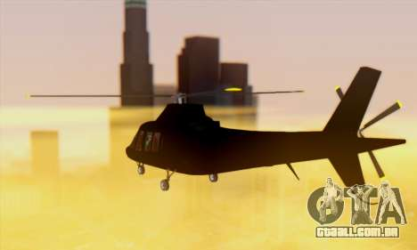 Swift GTA 5 para GTA San Andreas vista interior