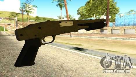 Sawnoff Shotgun from GTA 5 para GTA San Andreas segunda tela
