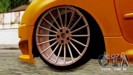 Peugeot 206 Camber Style para GTA San Andreas