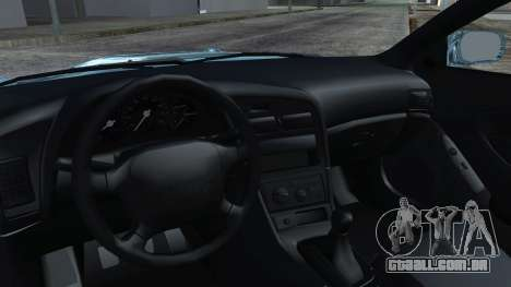 Toyota Сelica para GTA San Andreas vista direita