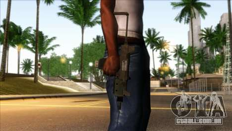 Micro SMG from GTA 5 para GTA San Andreas terceira tela