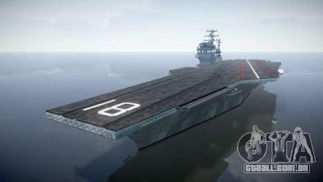 USS Flysenhower para GTA 4