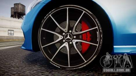 Mercedes-Benz C250 AMG (W205) 2015 para GTA 4 vista de volta