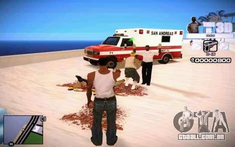 HUD 3D para GTA San Andreas terceira tela