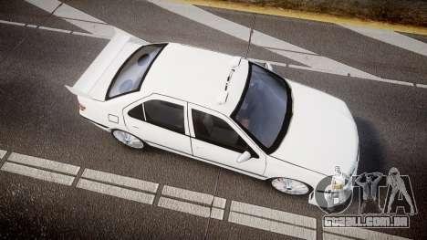 Peugeot 406 Taxi [Final] para GTA 4 vista direita