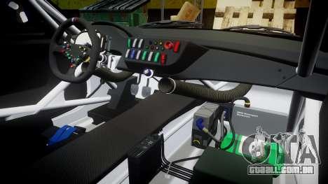 BMW Z4 GT3 2012 Northwest para GTA 4 vista superior