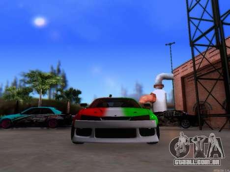 Nissan 200SX Elite Gas para GTA San Andreas vista direita