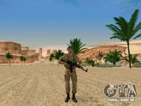 Granadeiro VDV para GTA San Andreas