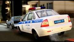 VAZ 2170 POLÍCIA DE TRÂNSITO para GTA San Andreas