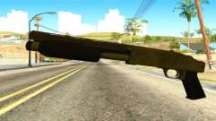 Sawnoff Shotgun from GTA 5 para GTA San Andreas