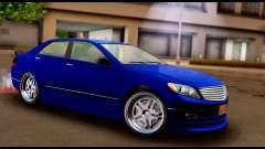 GTA 5 Schafter Bumper para GTA San Andreas