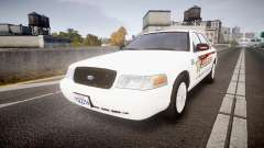 Ford Crown Victoria Sheriff [ELS] rims2 para GTA 4
