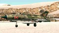 MiG 21 da força aérea Soviética