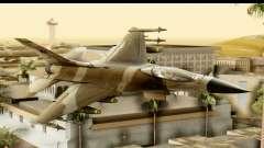 F-16 Fighter-Bomber Desert Camo