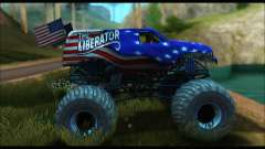 Monster The Liberator (GTA V) para GTA San Andreas