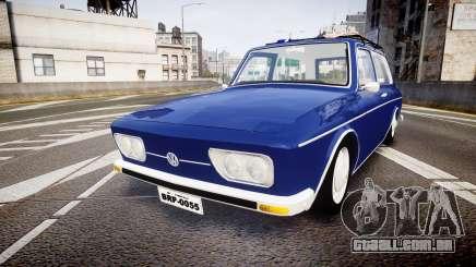 Volkswagen 1600 Variant 1973 para GTA 4