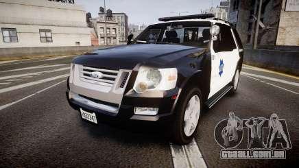 Ford Explorer 2008 LCPD [ELS] para GTA 4