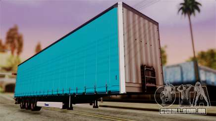 Volvo FH12 Low Deck Trailer para GTA San Andreas