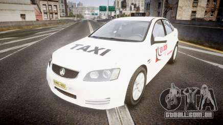 Holden Commodore Omega Queensland Taxi v3.0 para GTA 4