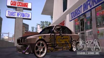 BMW M5 E34 Grip Runners Team para GTA San Andreas