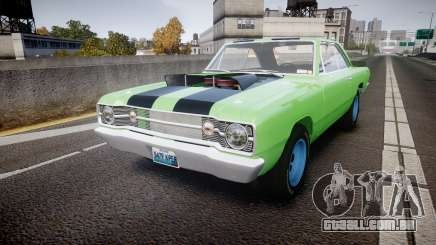 Dodge Dart HEMI Super Stock 1968 rims3 para GTA 4