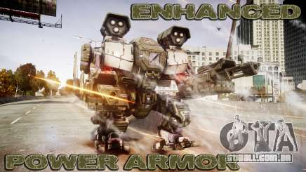 Enhanced Power Armor para GTA 4