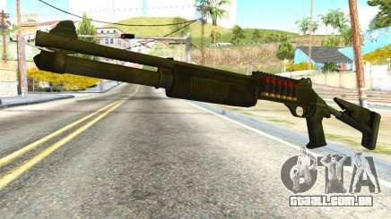 Shotgun from Global Ops: Commando Libya para GTA San Andreas