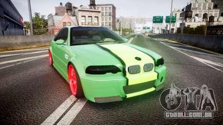 BMW M3 E46 Green Editon para GTA 4