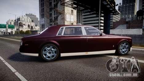 Rolls-Royce Phantom EWB v3.0 para GTA 4 esquerda vista