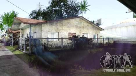 Miami Sunset ENB para GTA San Andreas por diante tela