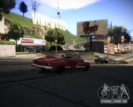 Glazed Graphics para GTA San Andreas por diante tela