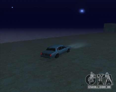 ENBSeries NEW Perfect Effects para GTA San Andreas por diante tela