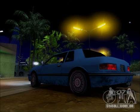 ENB by Nietto for SA:MP para GTA San Andreas sexta tela