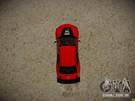 Mitsubishi Lancer Tokyo Drift para GTA San Andreas vista traseira