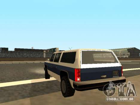 Rancher Four Door para GTA San Andreas esquerda vista