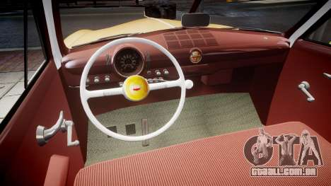Ford Business 1949 v2.1 para GTA 4 vista interior