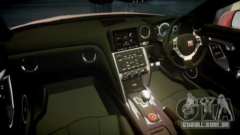 Nissan R35 GT-R V.Spec 2010 para GTA 4