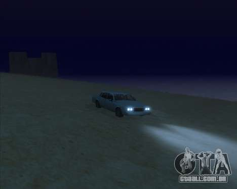 ENBSeries NEW Perfect Effects para GTA San Andreas quinto tela