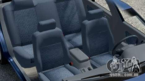 Daewoo Espero 1.5 GLX 1996 para GTA 4 motor