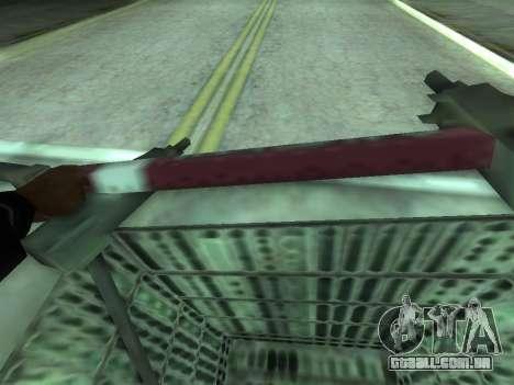 Shopping Cart para GTA San Andreas traseira esquerda vista