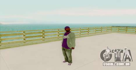 Ghetto Skin Pack para GTA San Andreas nono tela