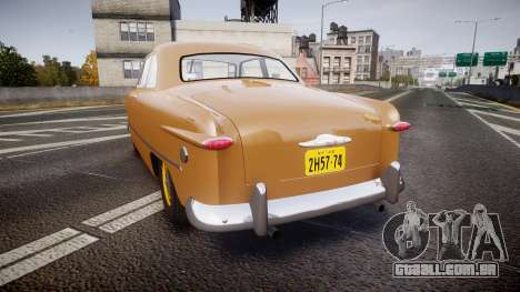 Ford Business 1949 v2.1 para GTA 4 traseira esquerda vista