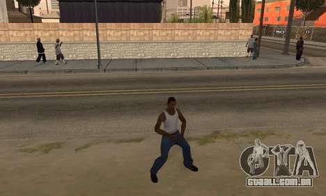 Dance para GTA San Andreas segunda tela